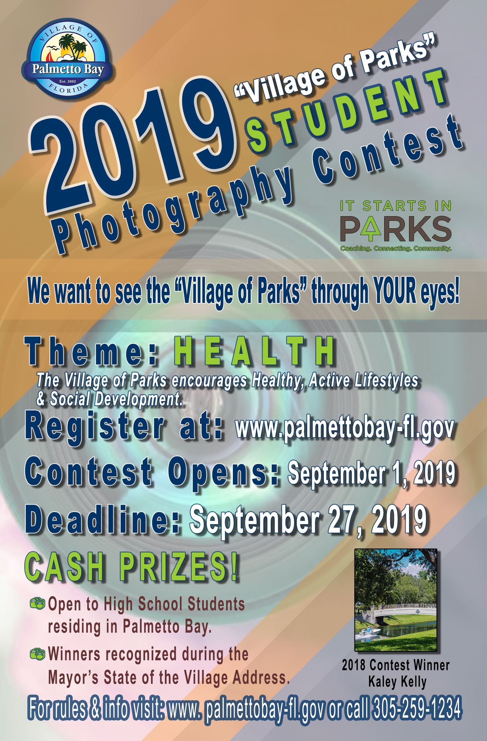 2019 Village of Parks Photo Contest
