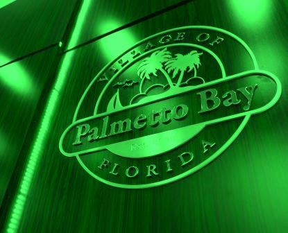 Palmetto Bay Neon Logo