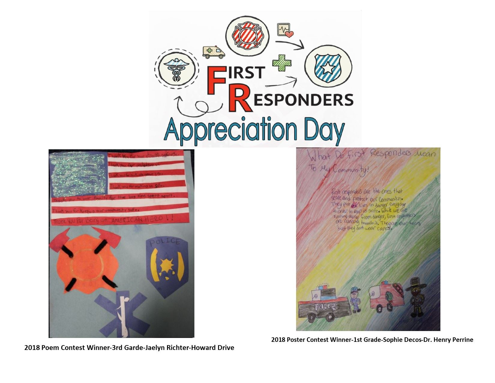 1st Responders Poem and Poster Contest