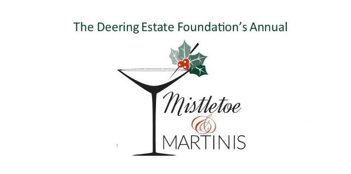 The Deering Estate Foundation's Annual Mistletoe & Martinis