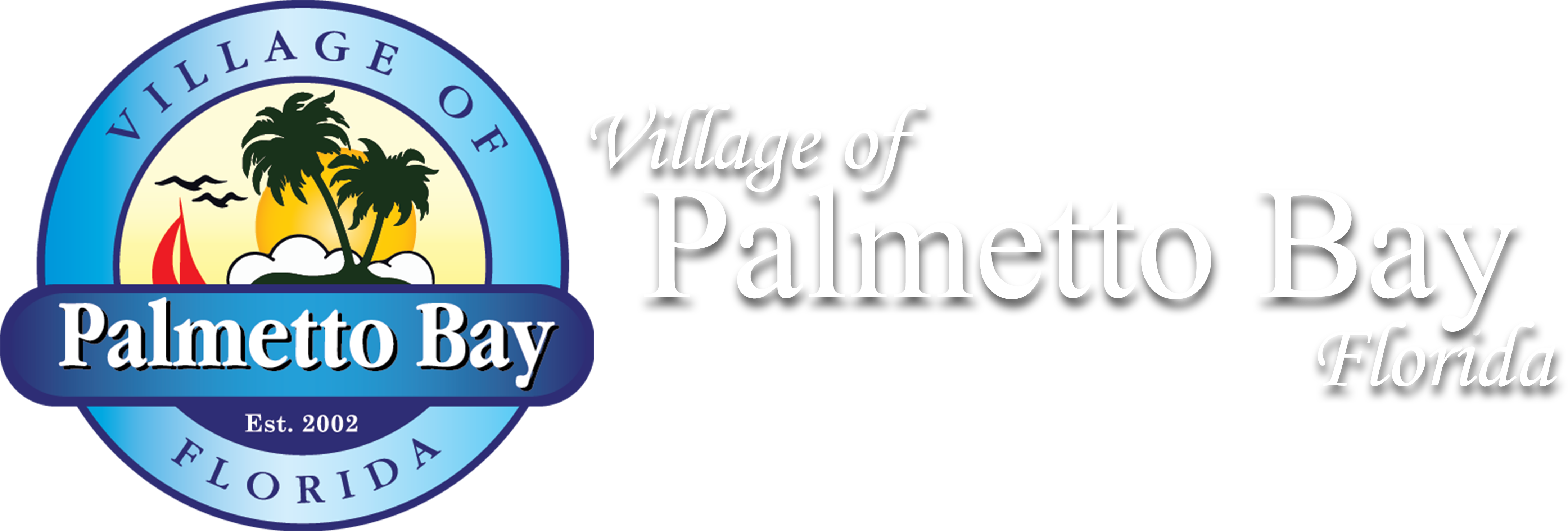 Village of Palmetto Bay seal and logo