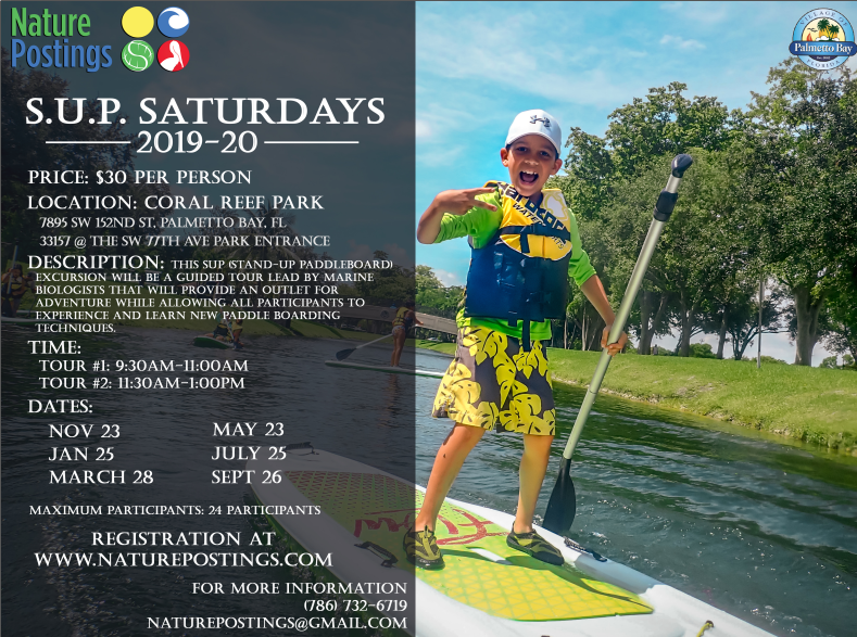 Stand Up Paddleboarding at Coral Reef Park