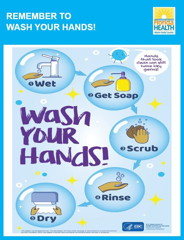 COVID-19-Flyer on Hand Washing