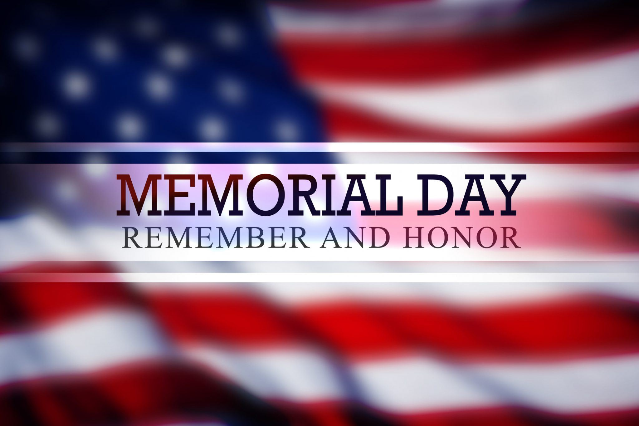 Memorial Day, Remember and Honor Image