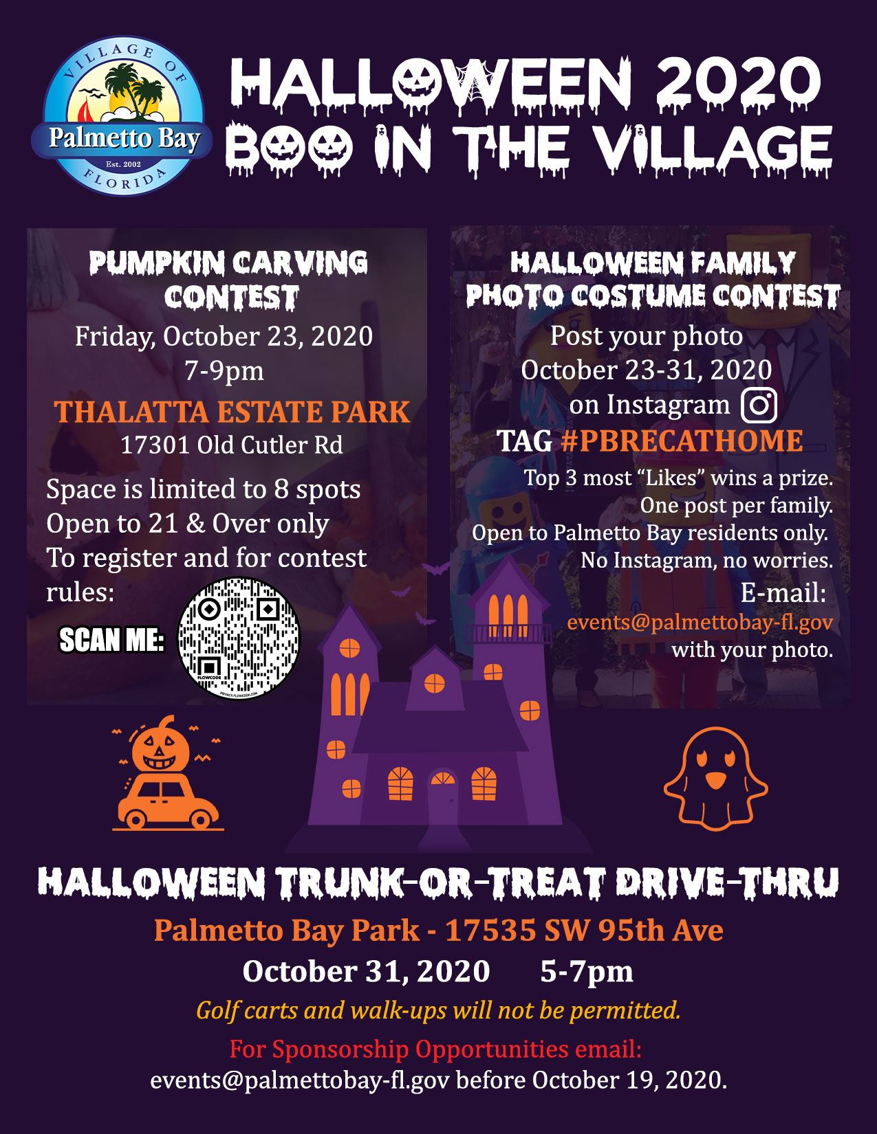 Halloween Events Friday Oct 5 2020 Upcoming Events | Palmetto Bay, FL