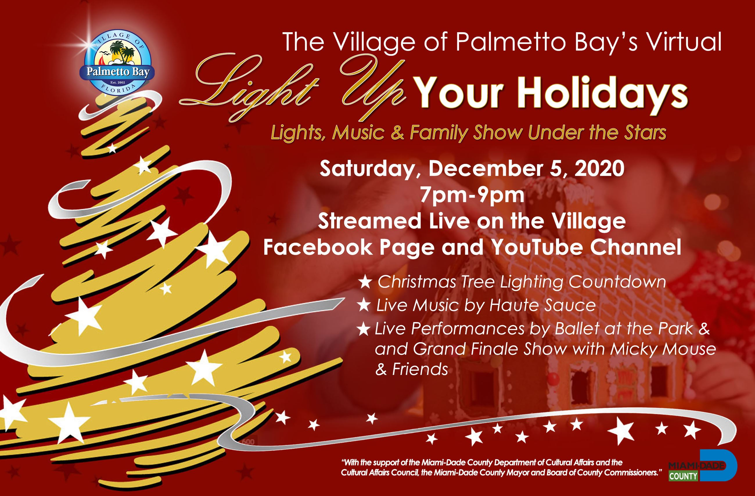 Holiday Lights and Dine - Virtual Flyer