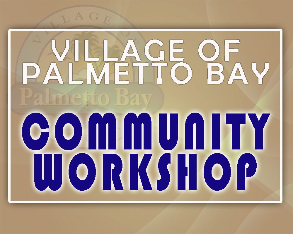 VOPB Community Workshop Announcement