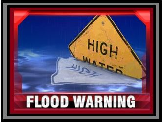High Water Warning Graphic