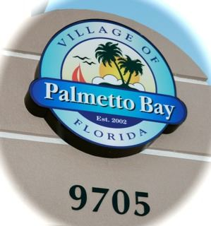 Palmetto Bay Entrance Seal