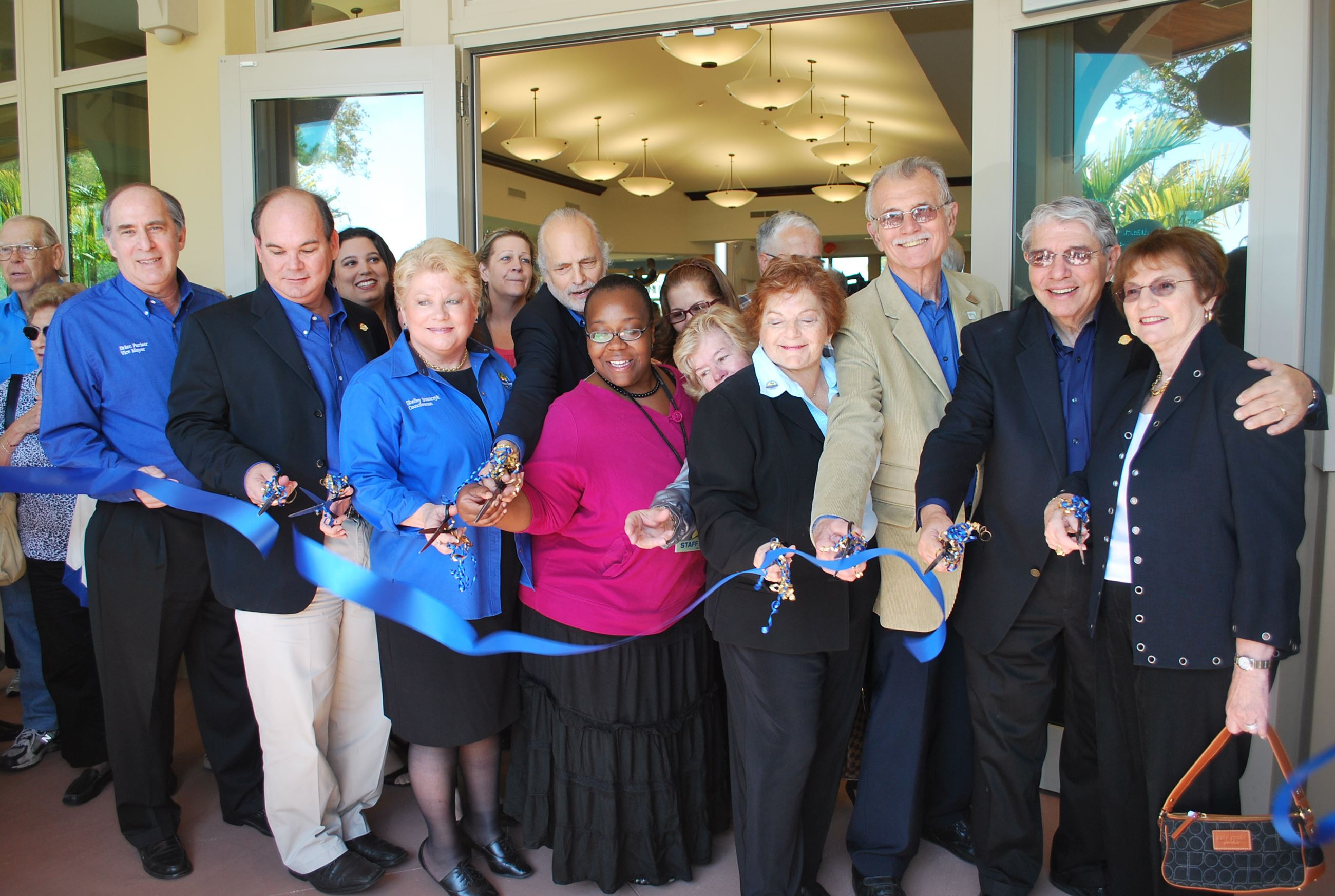 2009-Library and Ludovici Ribboncutting