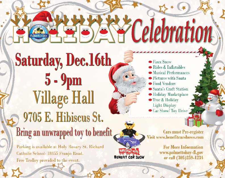 Holiday Celebration Flyer
