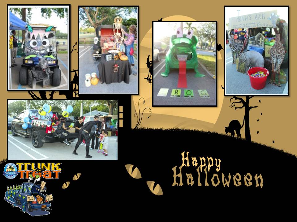 Halloween Trunk-or-Treat Car and Gold Cart Contest Images 2018 (1)