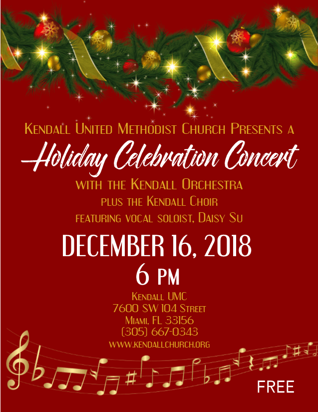 Holiday Celebration Concert 2018 new