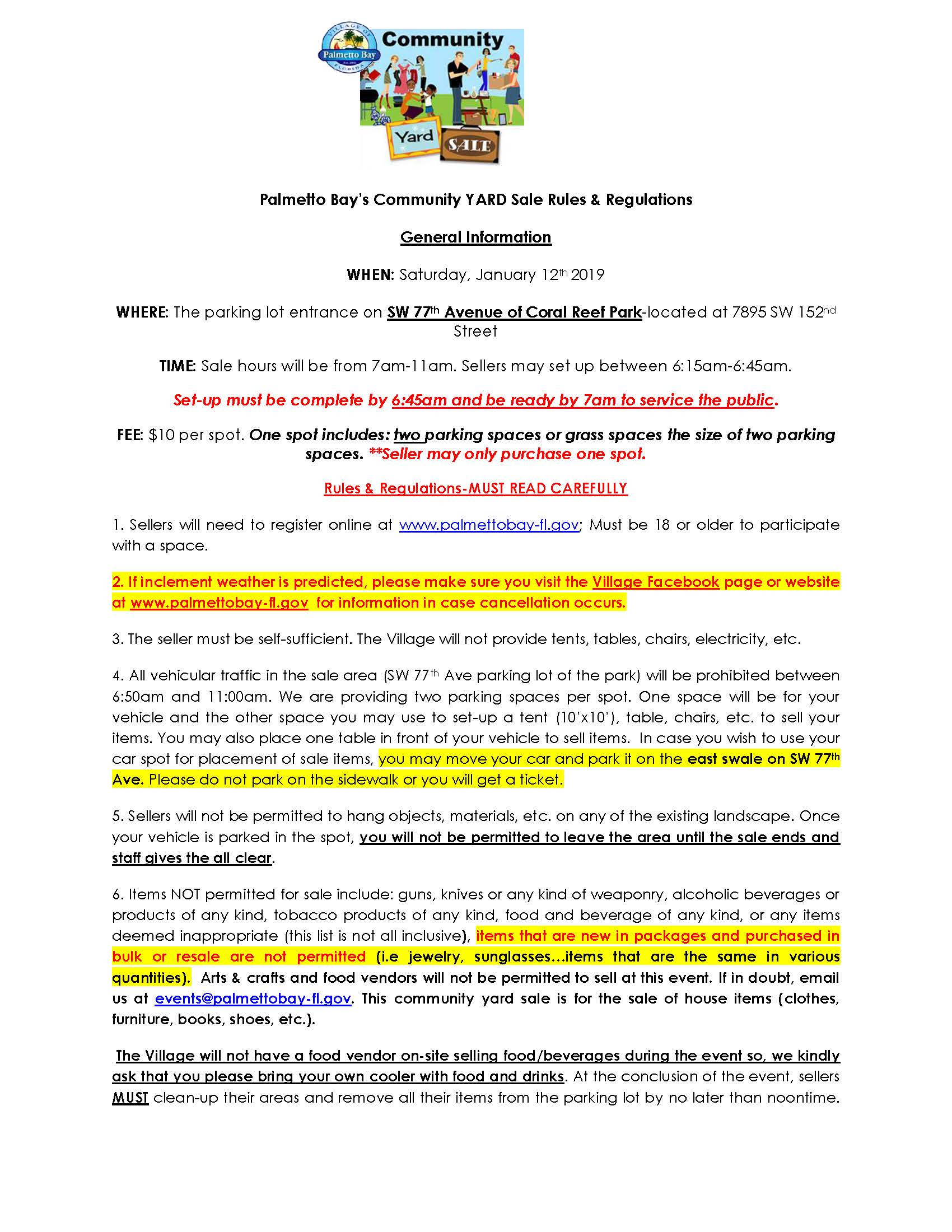 Community Garage Sale Rules  Rgulations-Janaury 2019 (002)_Page_1