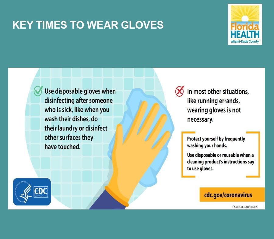 Key Times to Wear Gloves