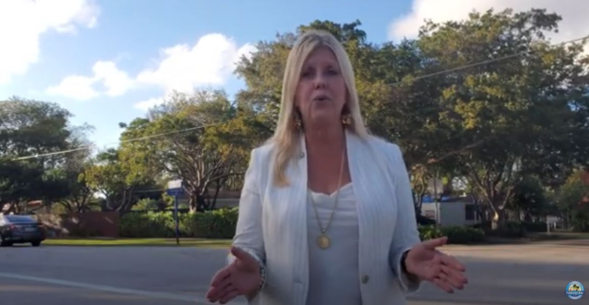 Picture of YouTube Video with Mayor Cunningham on SW 87th Ave Bridge Opens in new window