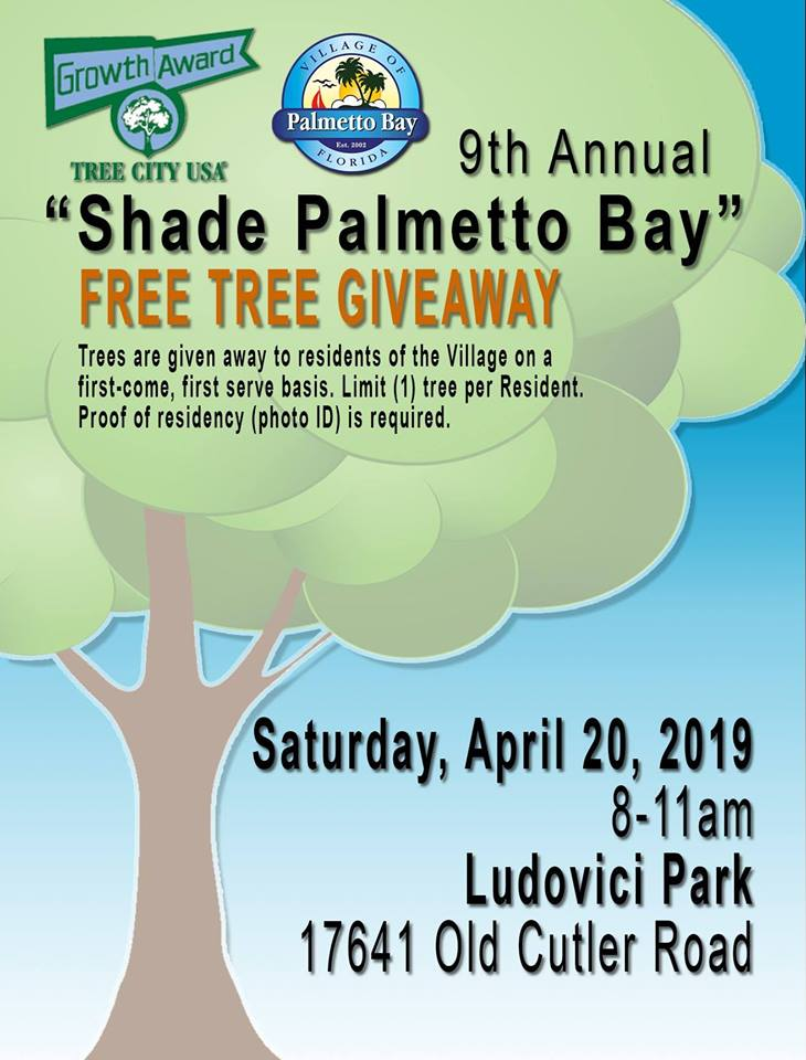 tree giveaway 2019 flyer